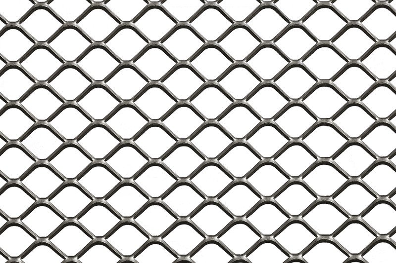 Expanded Metal | Industry | Square Expanded Metal | Fratelli Mariani