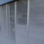 wire mesh detail Fratelli Mariani Maracanã Station