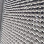 Al Munajem Building expanded metal